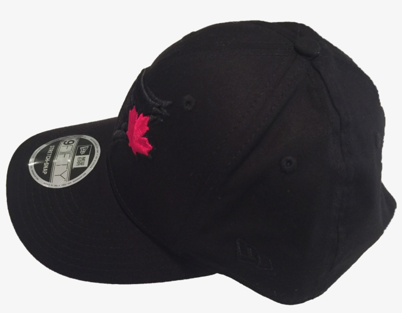 detailed look 028d2 43a3b Toronto Blue Jays New Era Mlb Black Hat Red Leaf 9fifty - Baseball Cap
