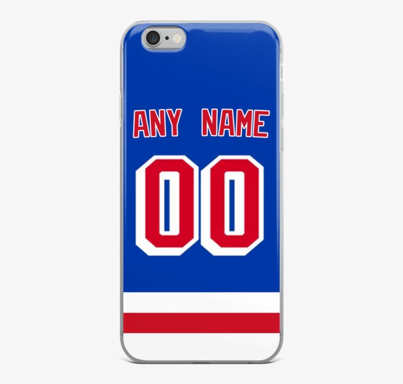 New York Rangers Jersey Iphone Case New York Rangers Transparent