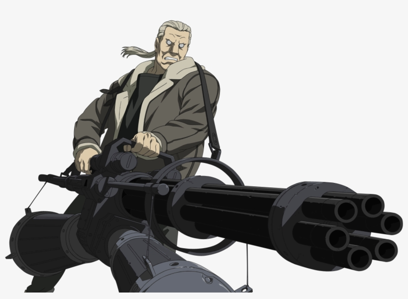 Batou Ghost In The Shell Batou Transparent Transparent Png 1530x1050 Free Download On Nicepng