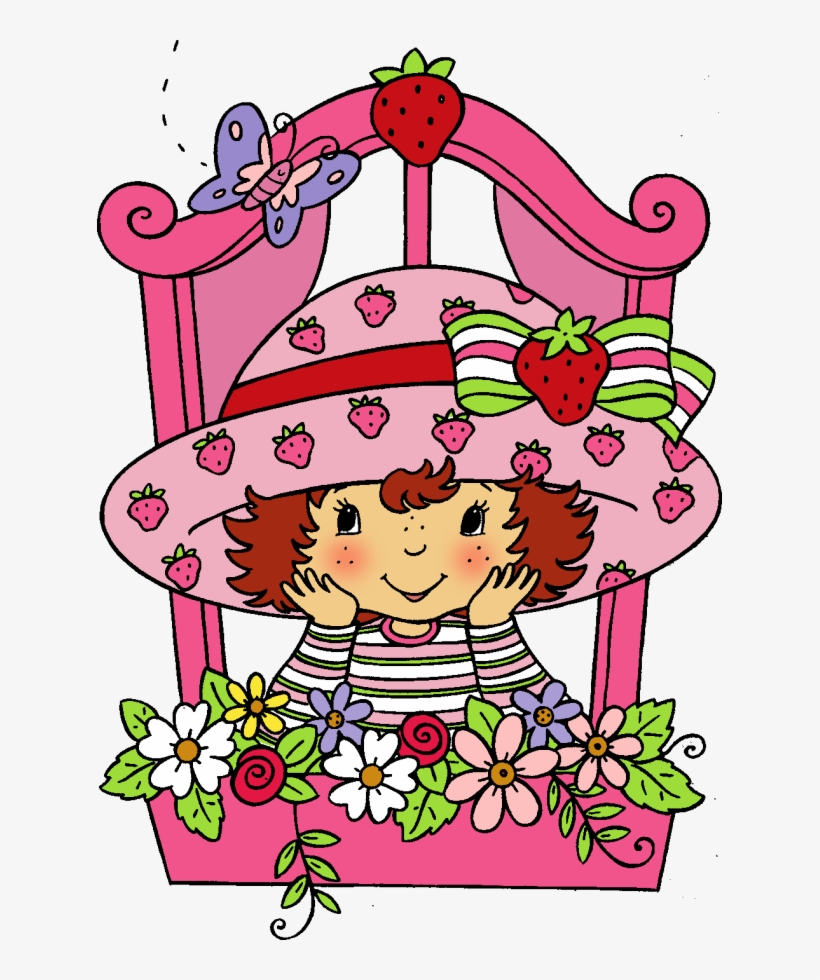Strawberry Shortcake Coloring Book