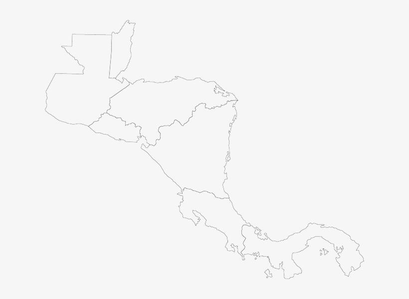 Central, America, Map, Cartography, Caribbean, Panama - Mapa ...