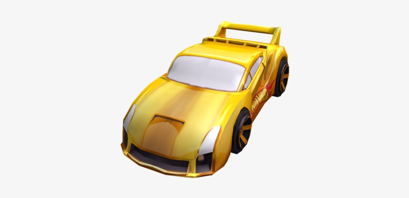 Hot Wheels Gold Car - Roblox Hotwheels Gear Transparent PNG