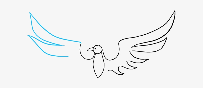 How To Draw A Phoenix Really Easy Drawing Tutorial - Drawing