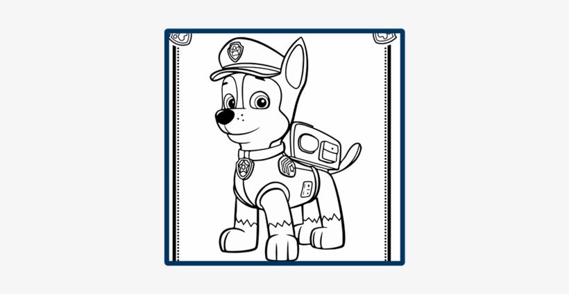 Prev Chase Patrulha Canina Para Colorir Transparent Png