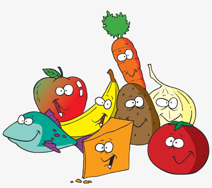 Banner Royalty Free Library Eat Healthy Food Clipart Fruit And Vegetables Clipart Transparent Png 2000x1676 Free Download On Nicepng