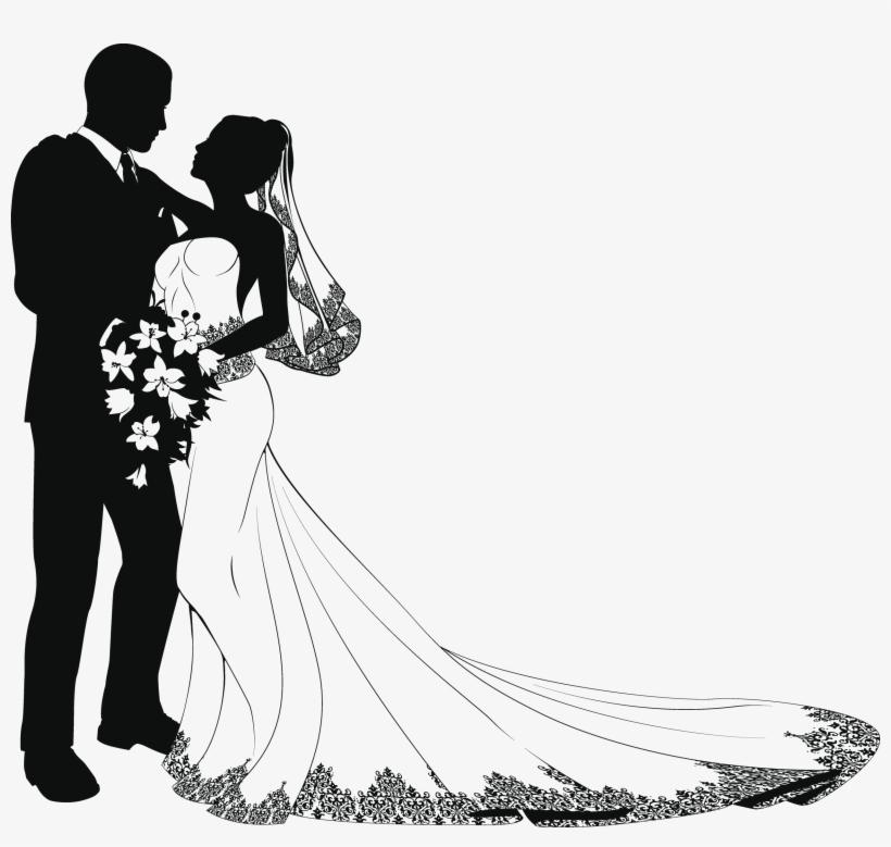 Wedding modern. Groom clipart reception couple