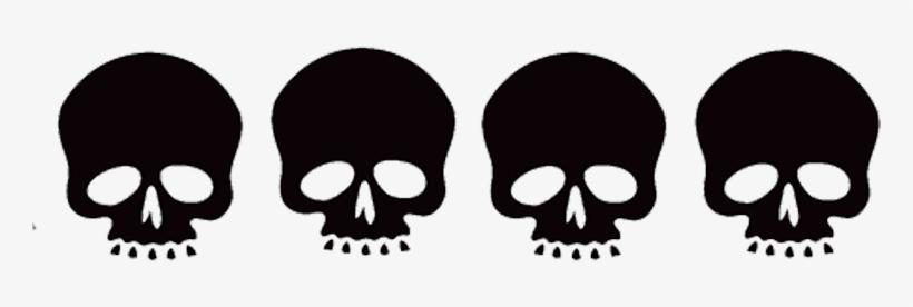 Skull Border Skull Border Clip Art Transparent Png