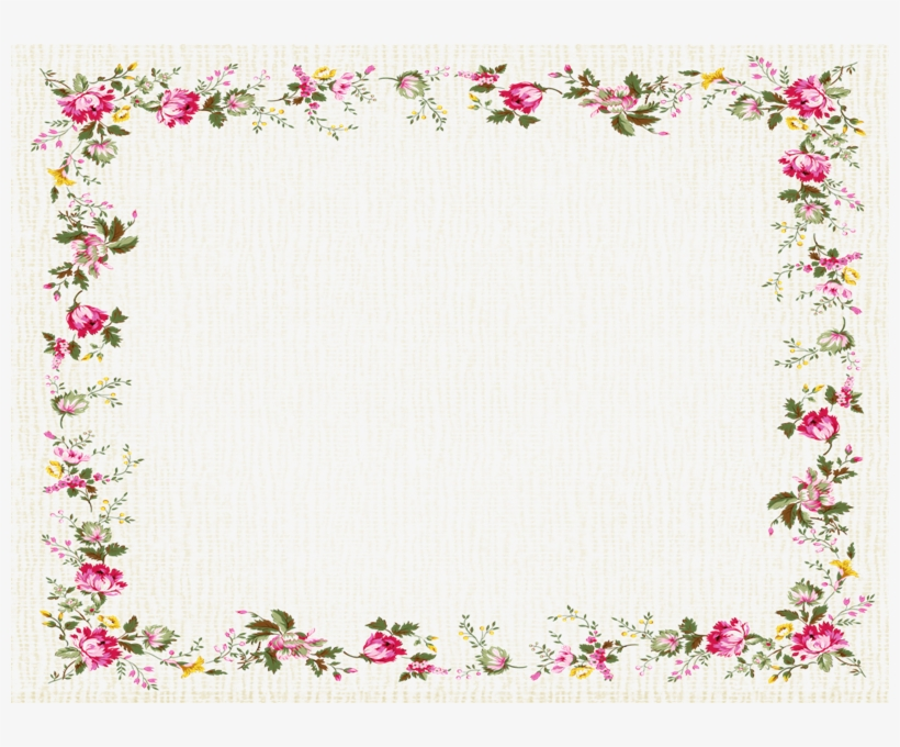 Flower Cute Borders Clipart Borders And Frames Christian ...