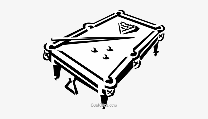 Incredible Pool Table And Balls Royalty Free Vector Clip Art Download Free Architecture Designs Scobabritishbridgeorg