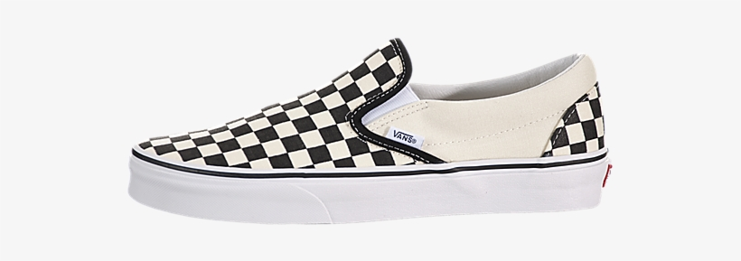 black and white checkered vans