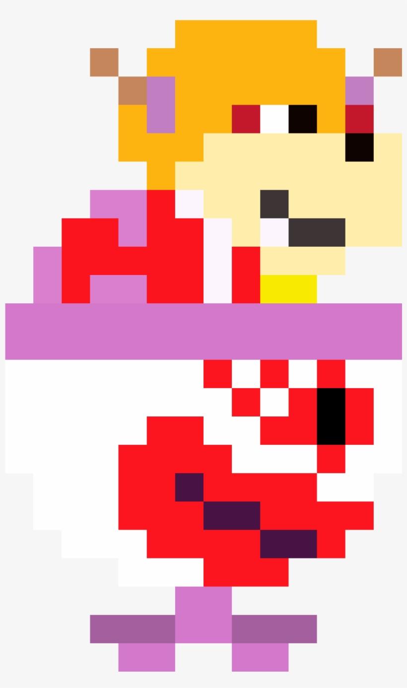 Clown Car Lavora Mystery Fantendo Bowser Jr Pixel Art