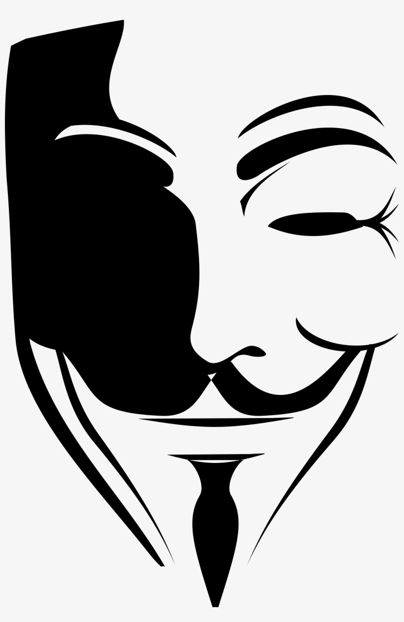 V For Vendetta Mask Png V For Vendetta Avatar Transparent Png