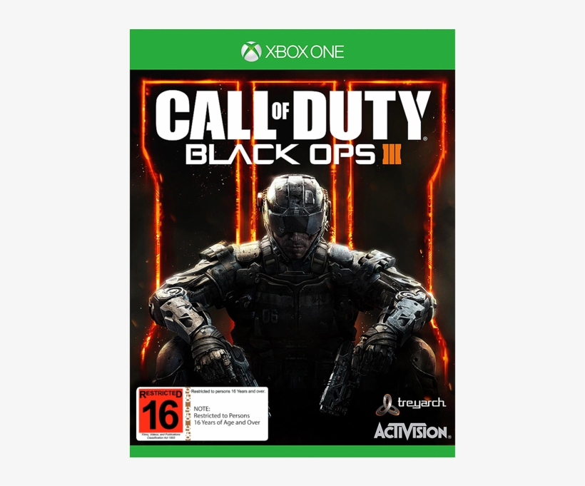 Call Of Duty Black Ops 3 Xbox One S Transparent Png 600x600
