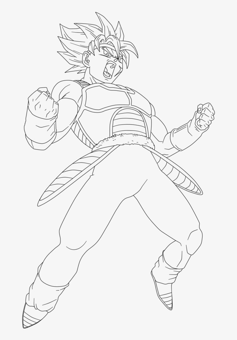 Super Saiyan Bardock Coloring Pages 3 By Crystal Bardock