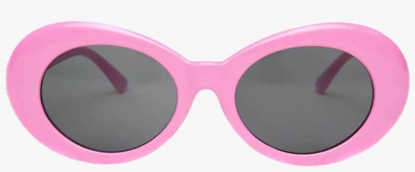 Clout goggles red. Pink light transparent png