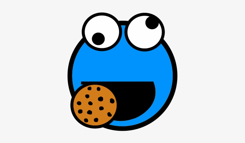 Cookie Monster Awesome Smiley By Kreme Cc Cartoon Cookie