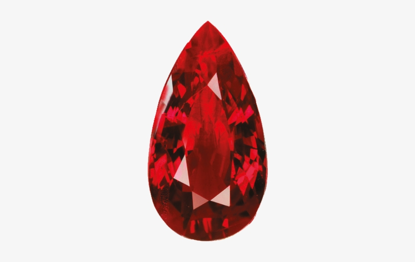 Our Story Red Diamond Tear Drop Transparent Png 500x534