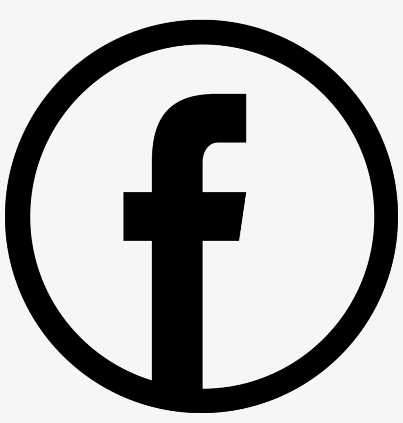 Icon free white black facebook and Download FACEBOOK
