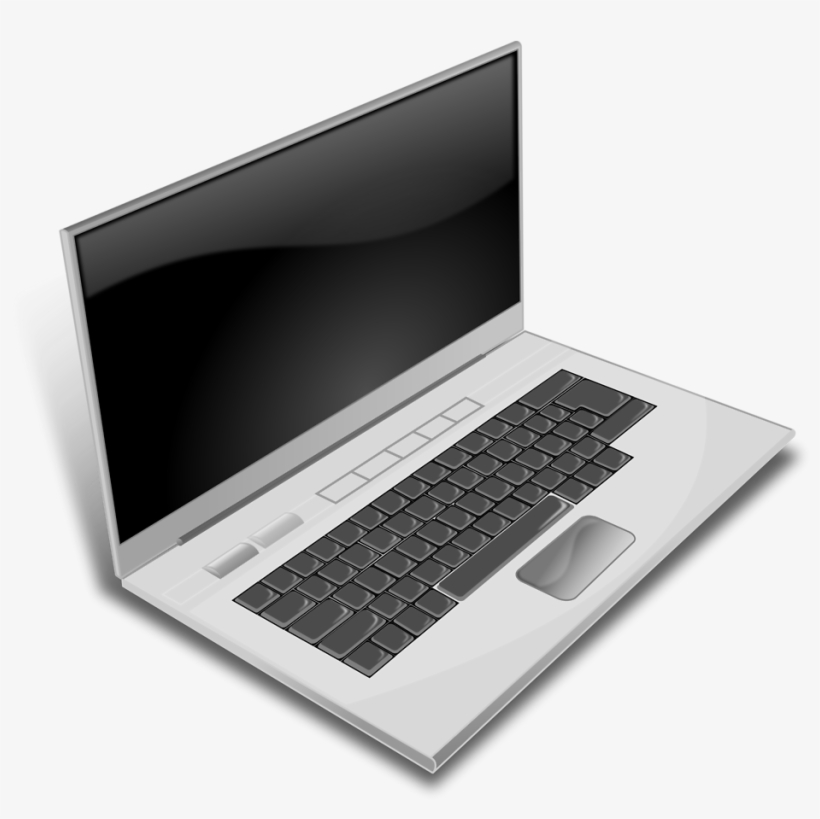 This Free Clipart Png Design Of A Gray Laptop Transparent Png 900x839 Free Download On Nicepng