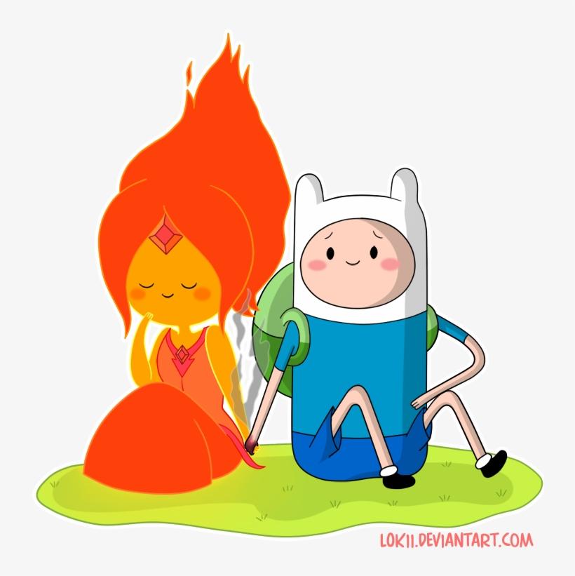 Finn And Fire Princess