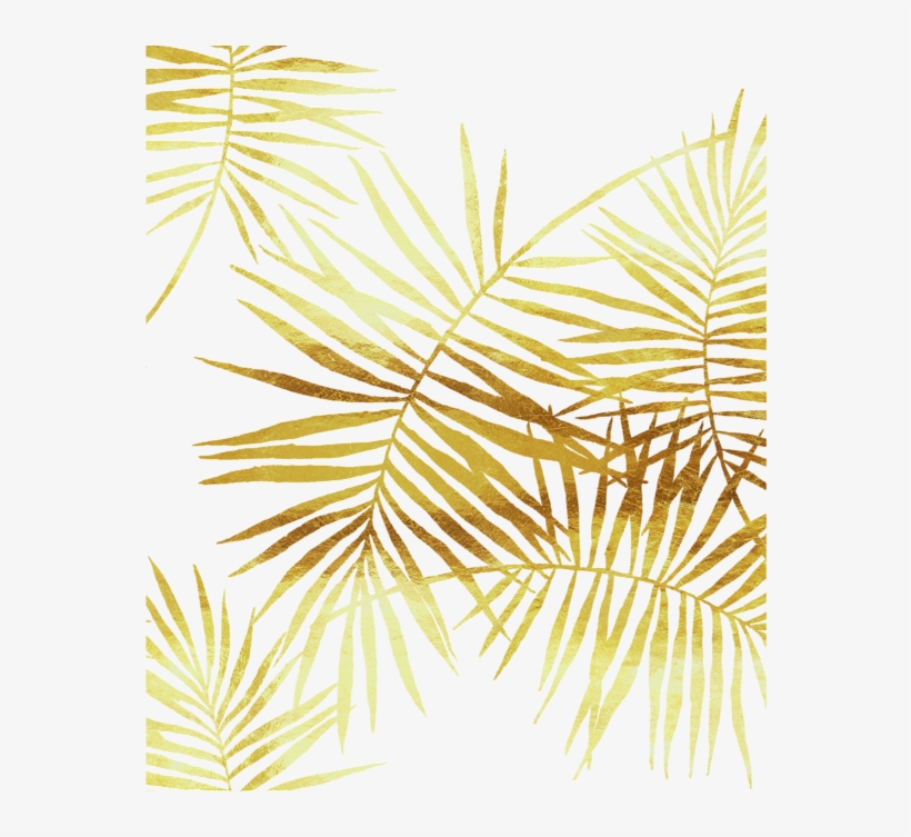 Gold Palm Leaves Png Clip Art Library Gold Palm Leaf Png Transparent Png 583x700 Free Download On Nicepng