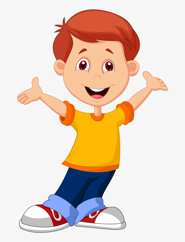 Картинка мальчика для детей без фона