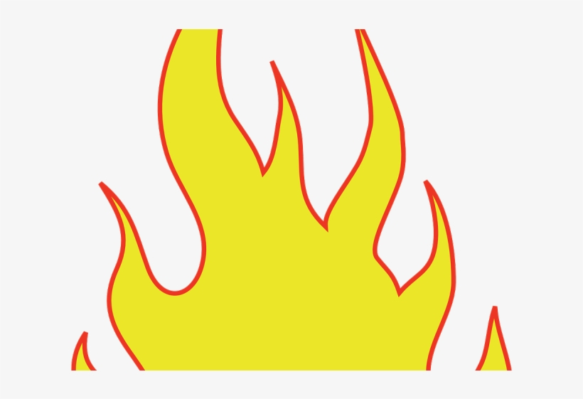 picture relating to Printable Flame referred to as Flame Stencils Printable - Animated Flames Clear PNG