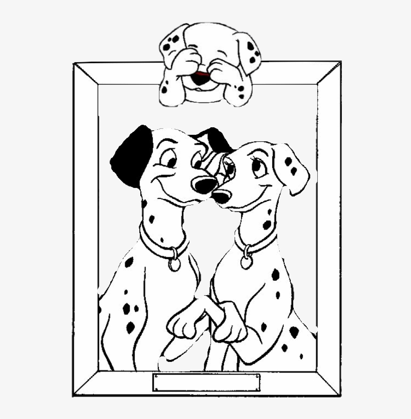 Photo 101 Dalmatians Coloring Pages 13 - Dalmatians Cartoon Dogs Coloring  Pages Transparent PNG - 544x756 - Free Download On NicePNG