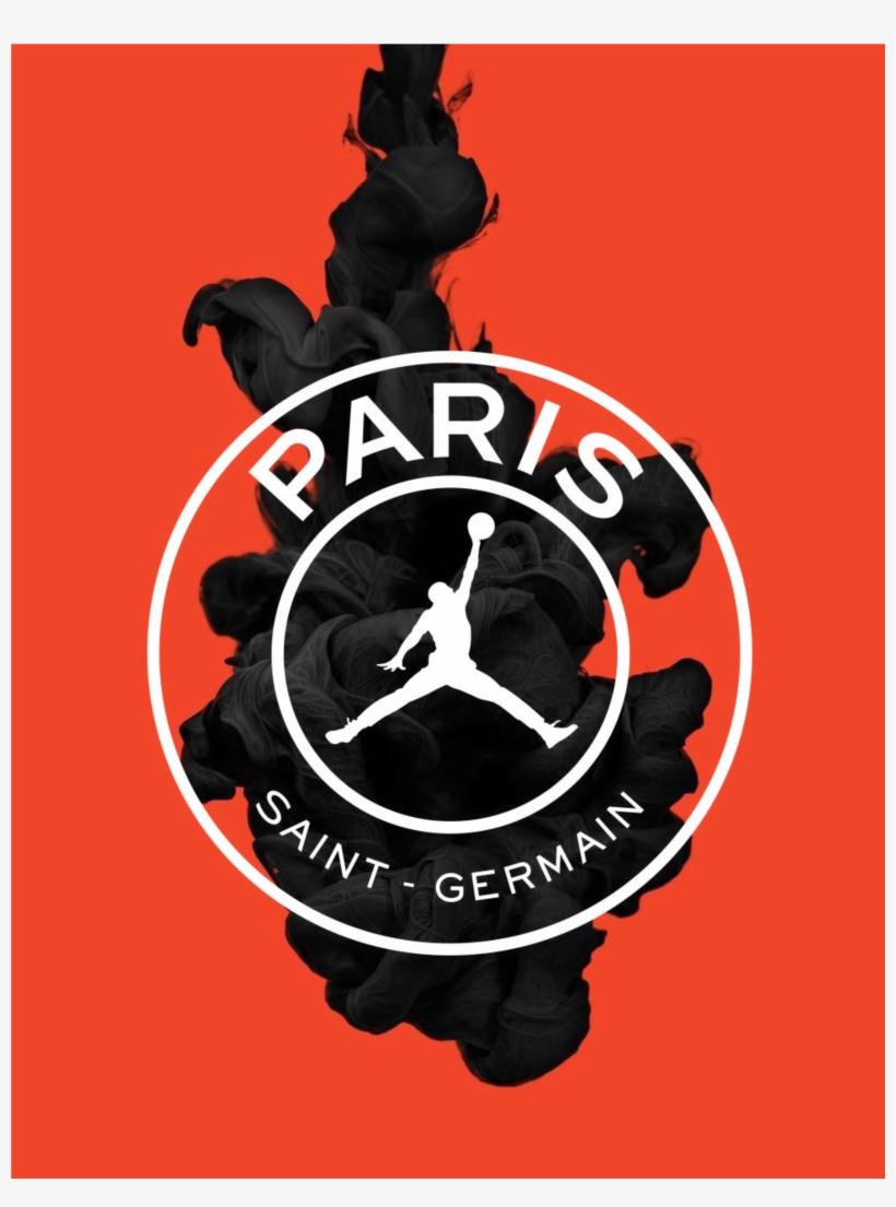 Psg Air Jordan Paris Saint Germain Jordan Transparent Png