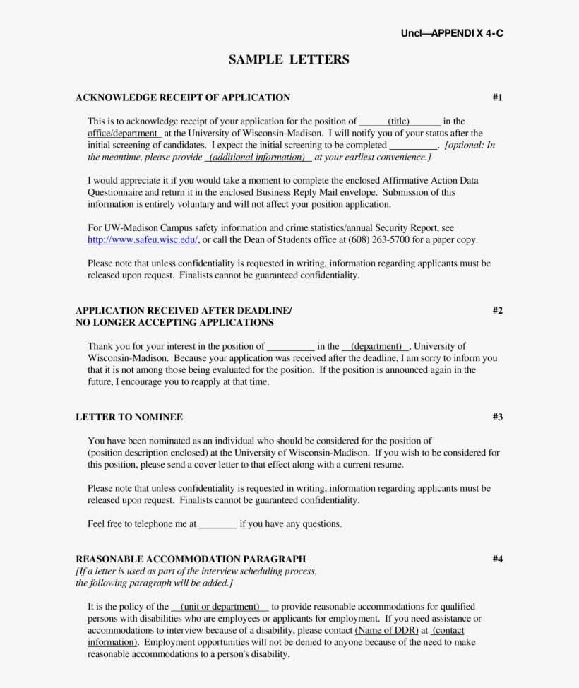 Employer Rejection Letter After Interview from www.nicepng.com