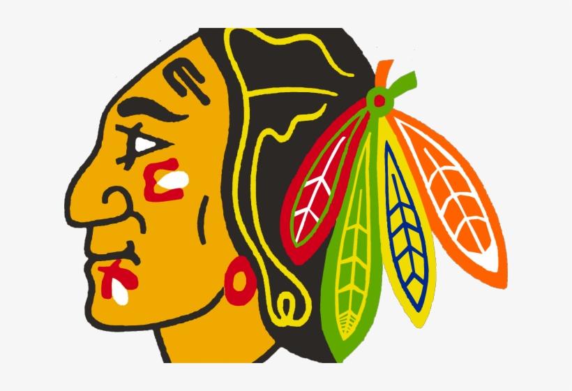 Chicago Blackhawks Side Logo Clipart (#4939583) - PinClipart