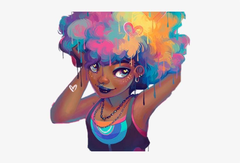 Desenho Para Empoderamento Negro Transparent Png 480x480 Free
