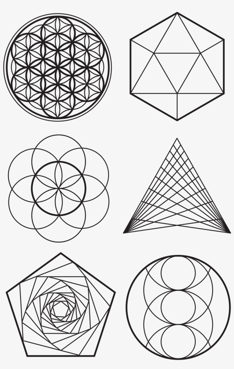 Sacred Geometry Sheet - Geometry Transparent PNG - 2048x2048