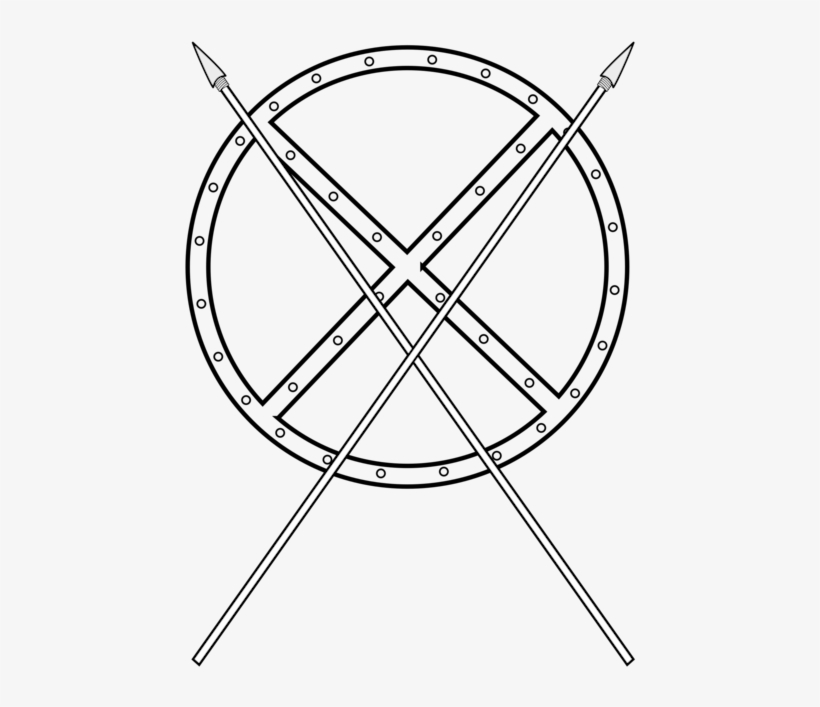 Computer Icons Download Shield Spear - Cartoon Sword And Shield