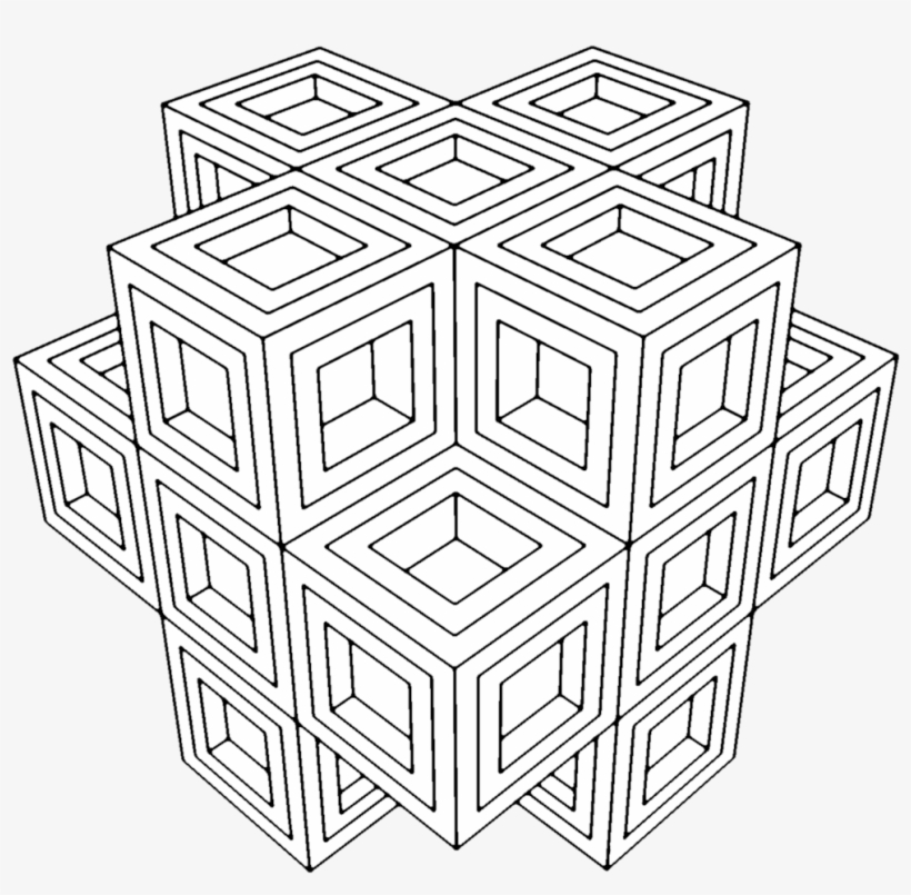 Sacred Geometry Coloring Pages - Adult Geometric Coloring Book Page ...