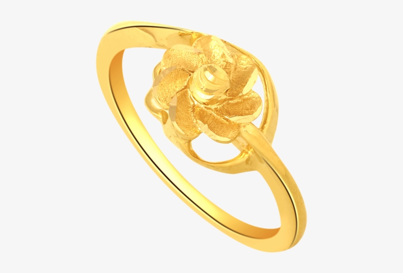 Gold Ring Designs For Females Without Stones - Plain Gold