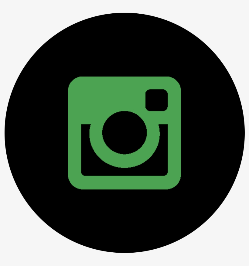 Black And Green Instagram Logo Instagram Icon White Round Transparent Png 796x796 Free Download On Nicepng