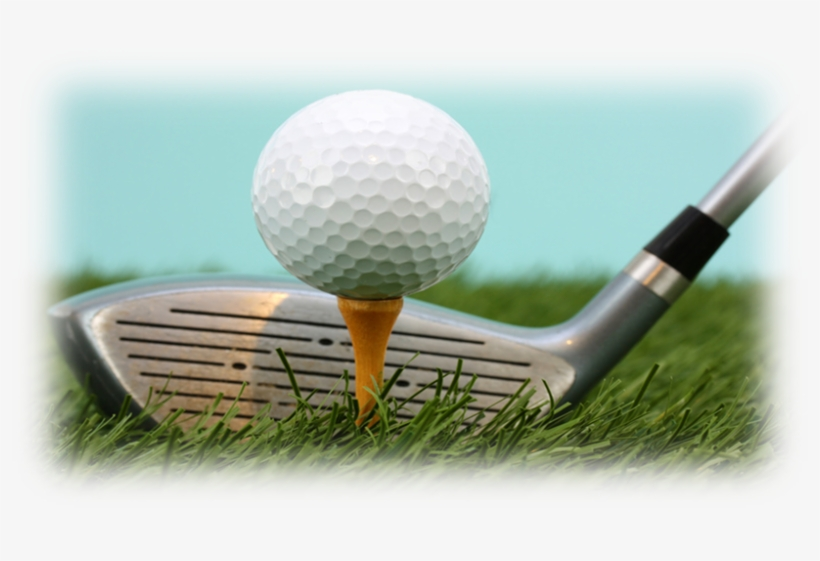 Golf Ball Sitting On A Tee Transparent Png 818x481 Free Download On Nicepng