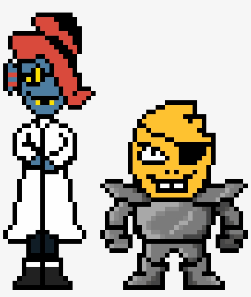 More Underswap Sprites Because Why Not Sans And Papyrus Undertale Gender Swap Au Transparent Png 1280x1280 Free Download On Nicepng