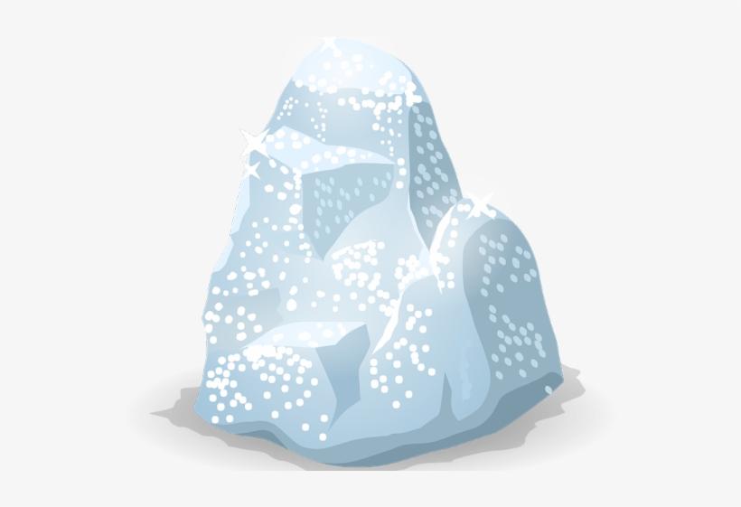 Ice mountain isolated icon vector illustration design.