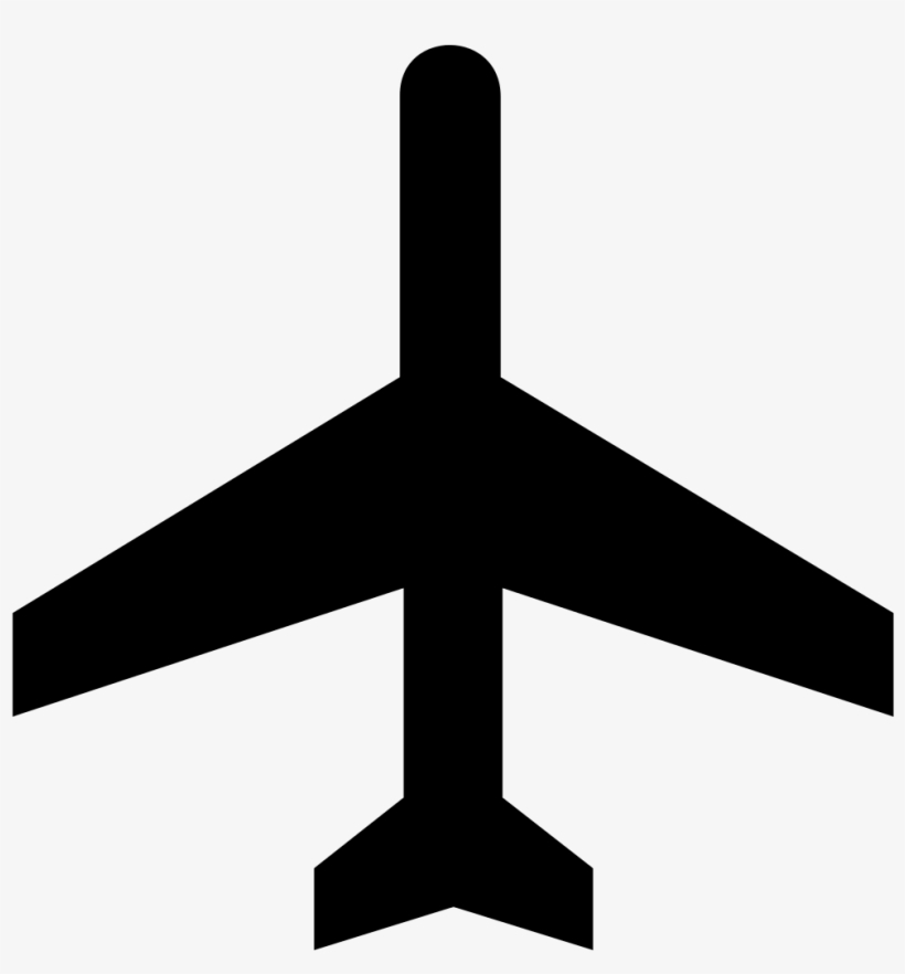 Airplane Clipart Black Png Airplane Silhouette No Background