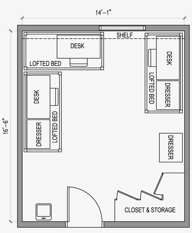 Vector Clipart Furniture Floor Plan Dimensions For A Study Room Transparent Png 1219x1416 Free Download On Nicepng