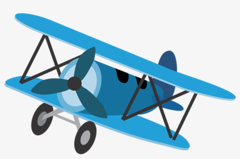 Fteairplanes Plane Blue Cartoon Plane Transparent Background