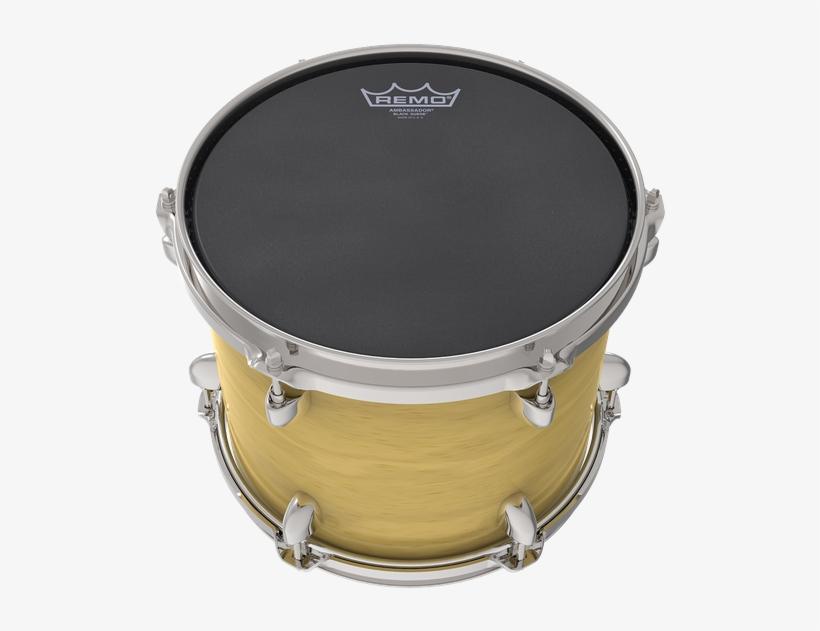 Remo Black Suede Emperor Batter Drumhead 18-inch