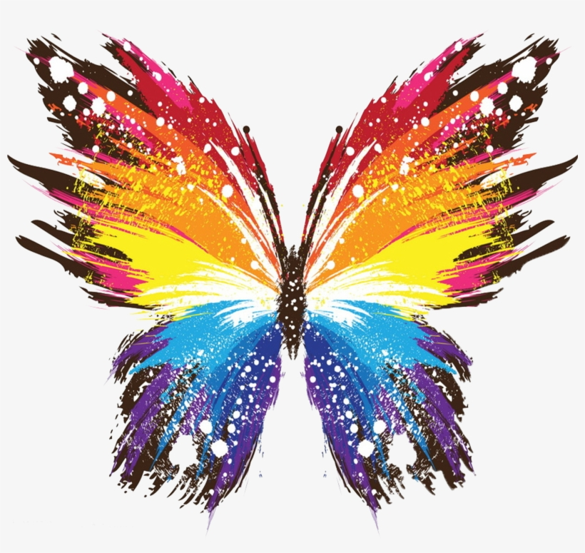 Butterfly Iphone X Painting Art Wallpaper Colorful Wallpaper For Laptop Transparent Png 2084x1868 Free Download On Nicepng