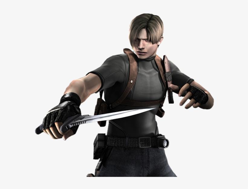 Leon Scott Kennedy Resident Evil 4 Leon Transparent Png