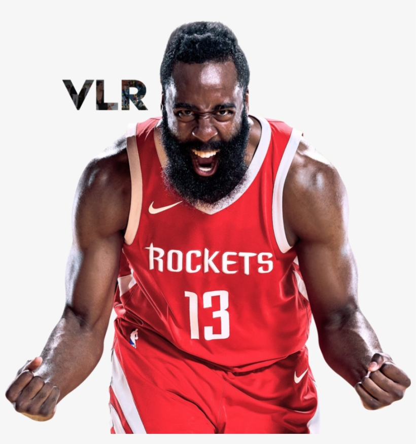 James Harden Rockets: Houston Rockets James Harden Red Name