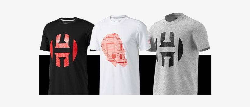 official photos c70ed eedaf Shop Apparel - James Harden Adidas Shirt Transparent PNG ...