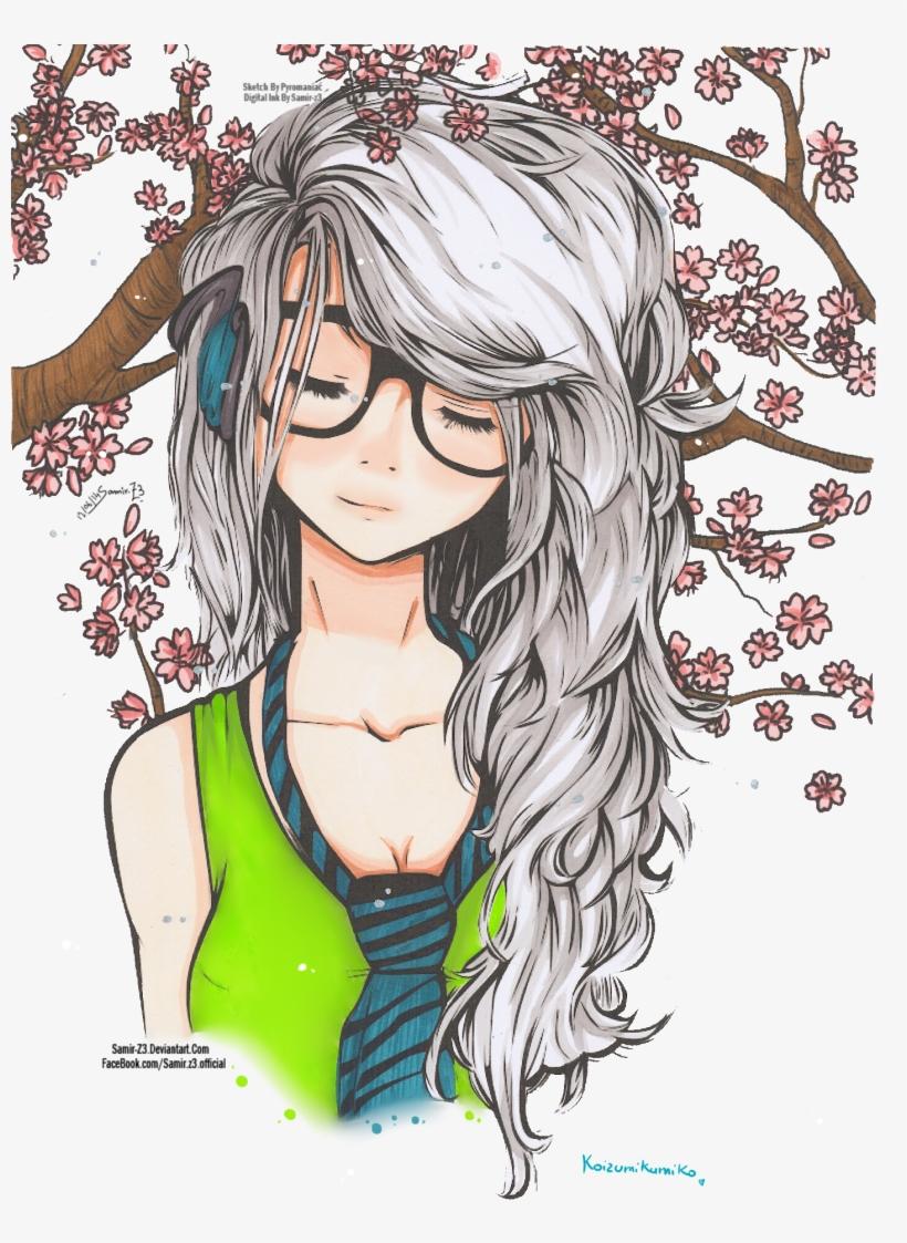 Cute girl by koizumikumiko on deviantart cute anime girl drawing