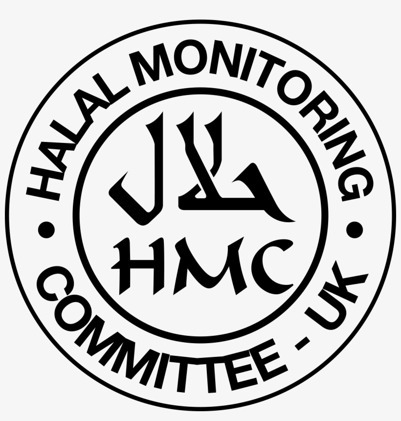 Halal Monitoring Committee Hmc - Halal Monitoring Committee Uk Logo  Transparent PNG - 3488x3488 - Free Download on NicePNG